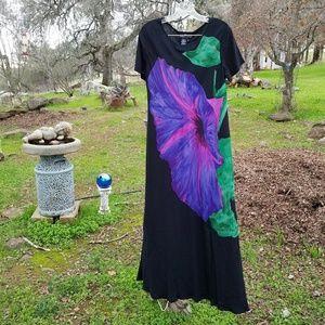 artsy Vtg Carole Little dress